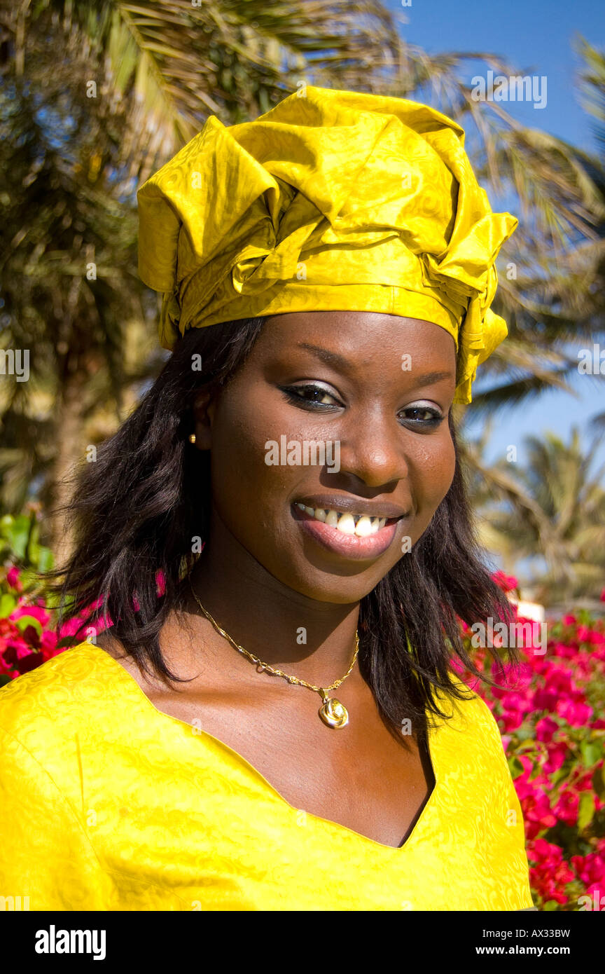 What is the clothing that the serer people of Senegal wear?
