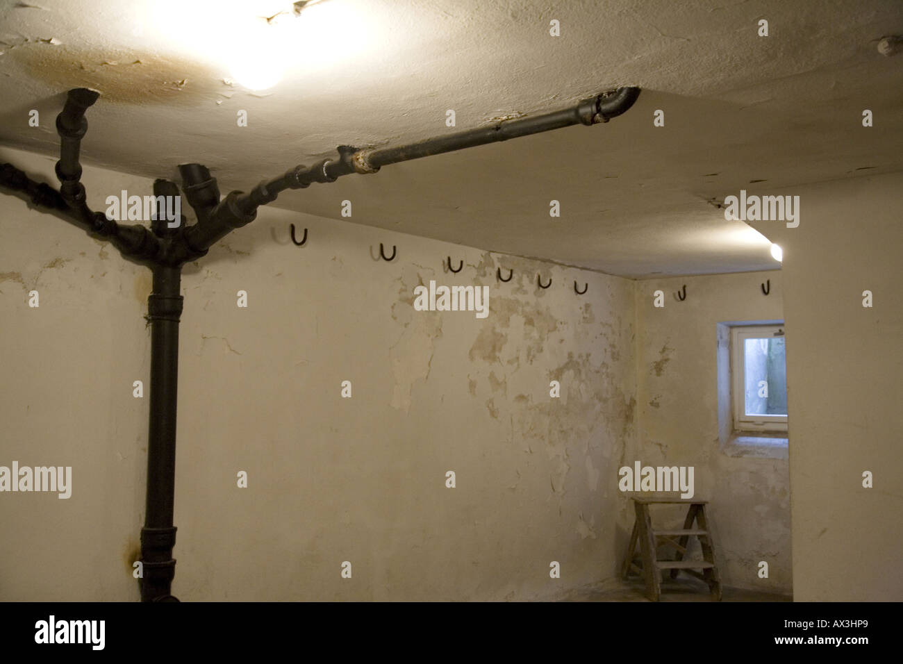 Buchenwald Concentration Camp Museum Memorial Stock Photos - Concentration camp museums in usa