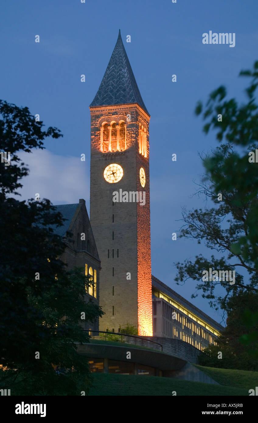 New york tompkins county ithaca 14850 - Mcgraw Hall Clock Tower Cornell University Ithaca New York Tompkins County
