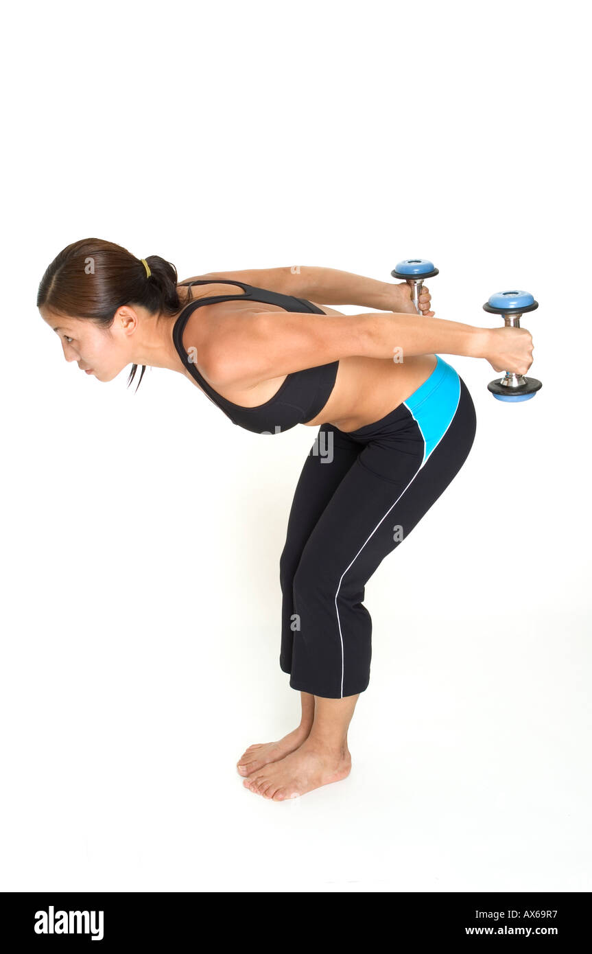 5-Minute Arms Workout with Dumbbells Shape Magazine Arm exercises with weights for women pictures