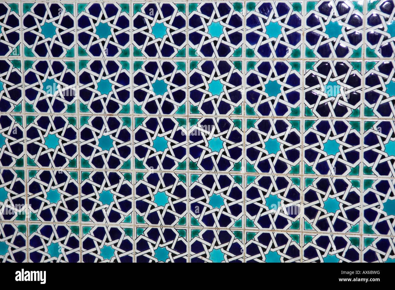 Moroccan geometric pattern royalty free stock photos image 13547078 - Geometric Pattern Of Islamic Tiles Muscat Oman Stock Photo Royalty 1300x954