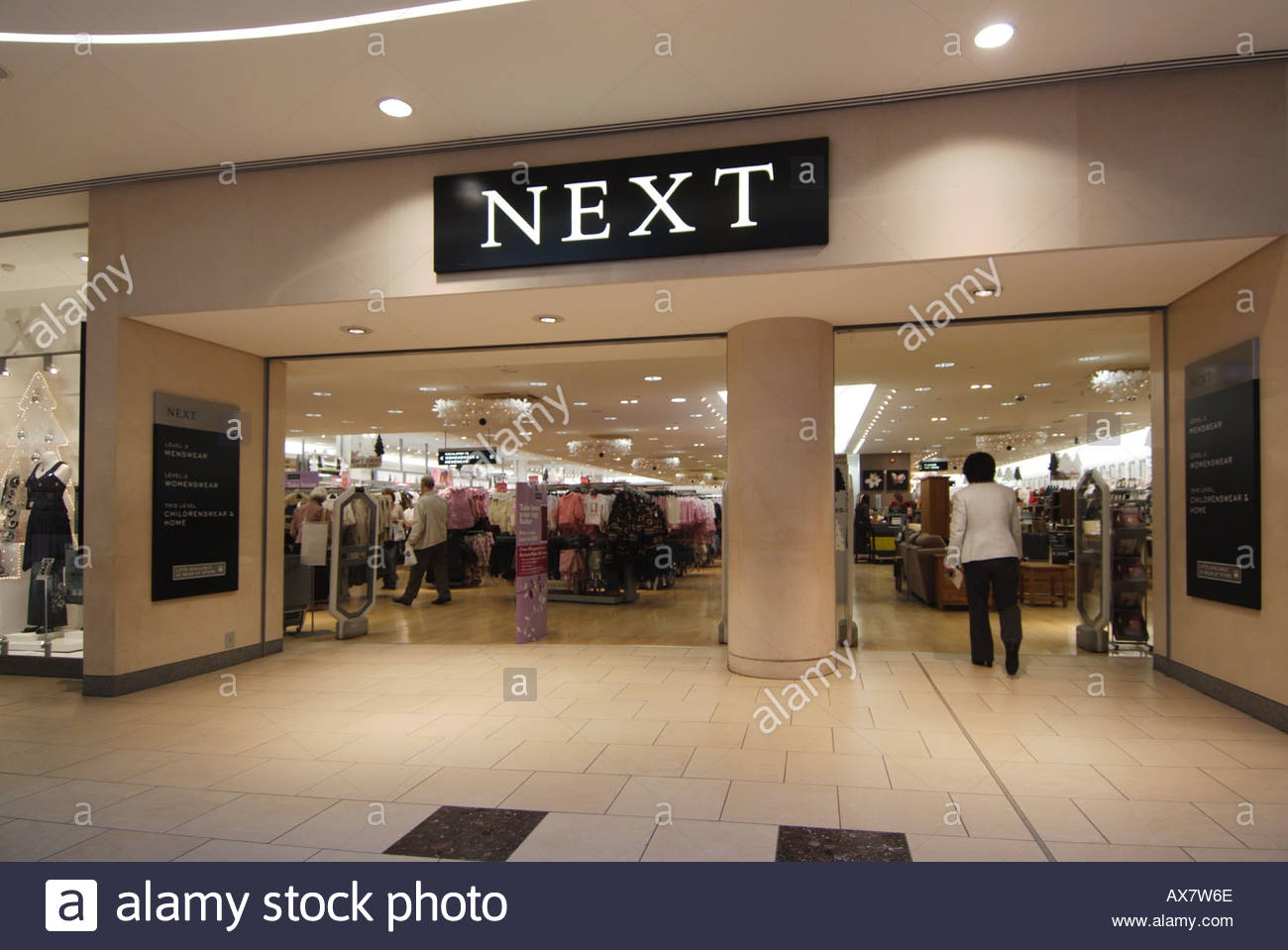 Next clothing store