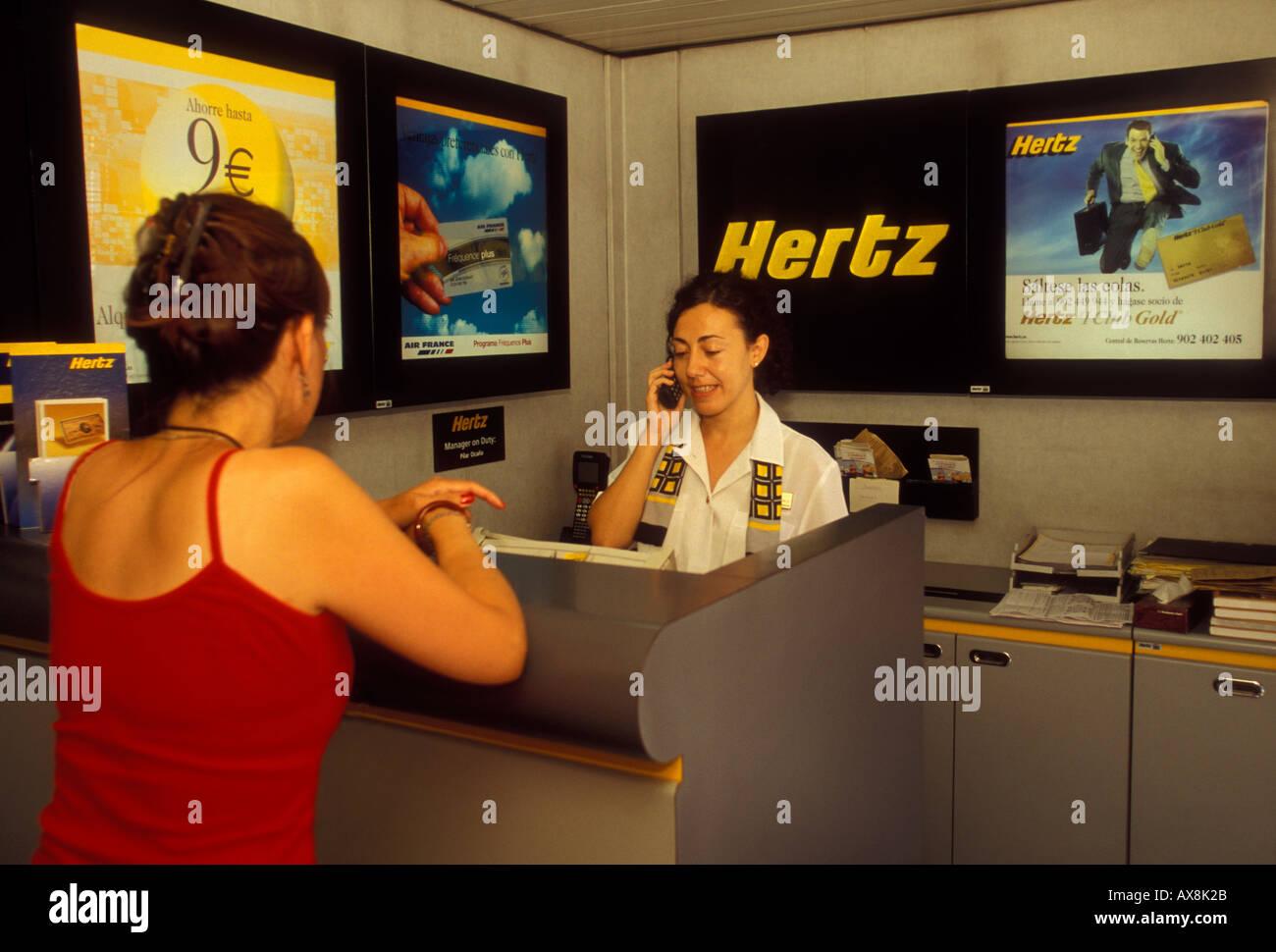 oficinas hertz madrid hertz car rental agency barajas international airport