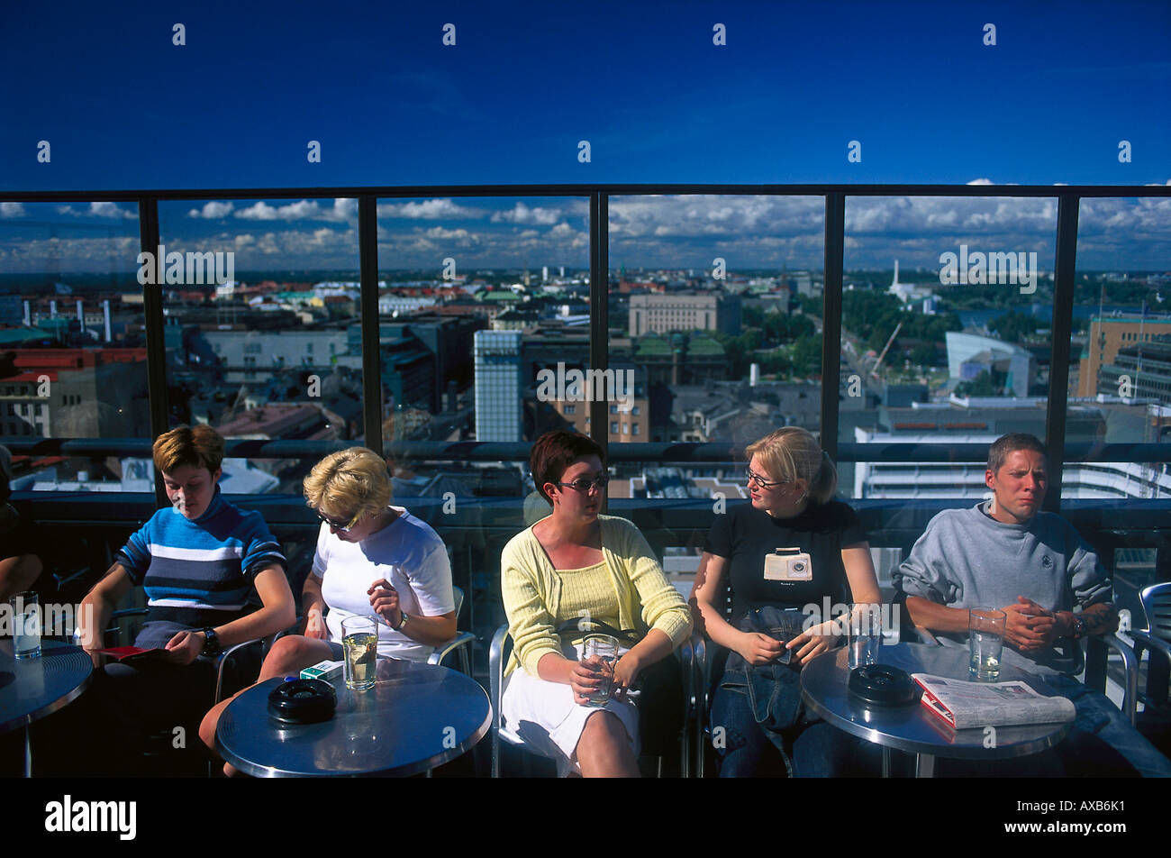 Tornin Ateljee sky bar, Helsinki Finland Stock Photo, Royalty Free Image: 9593776 - Alamy