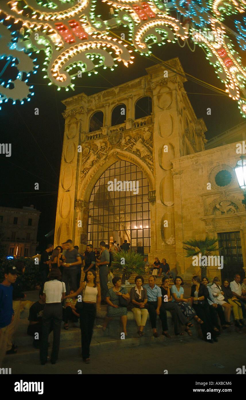 lecce italien festival for saint oronzo apulien wetter 16 tage