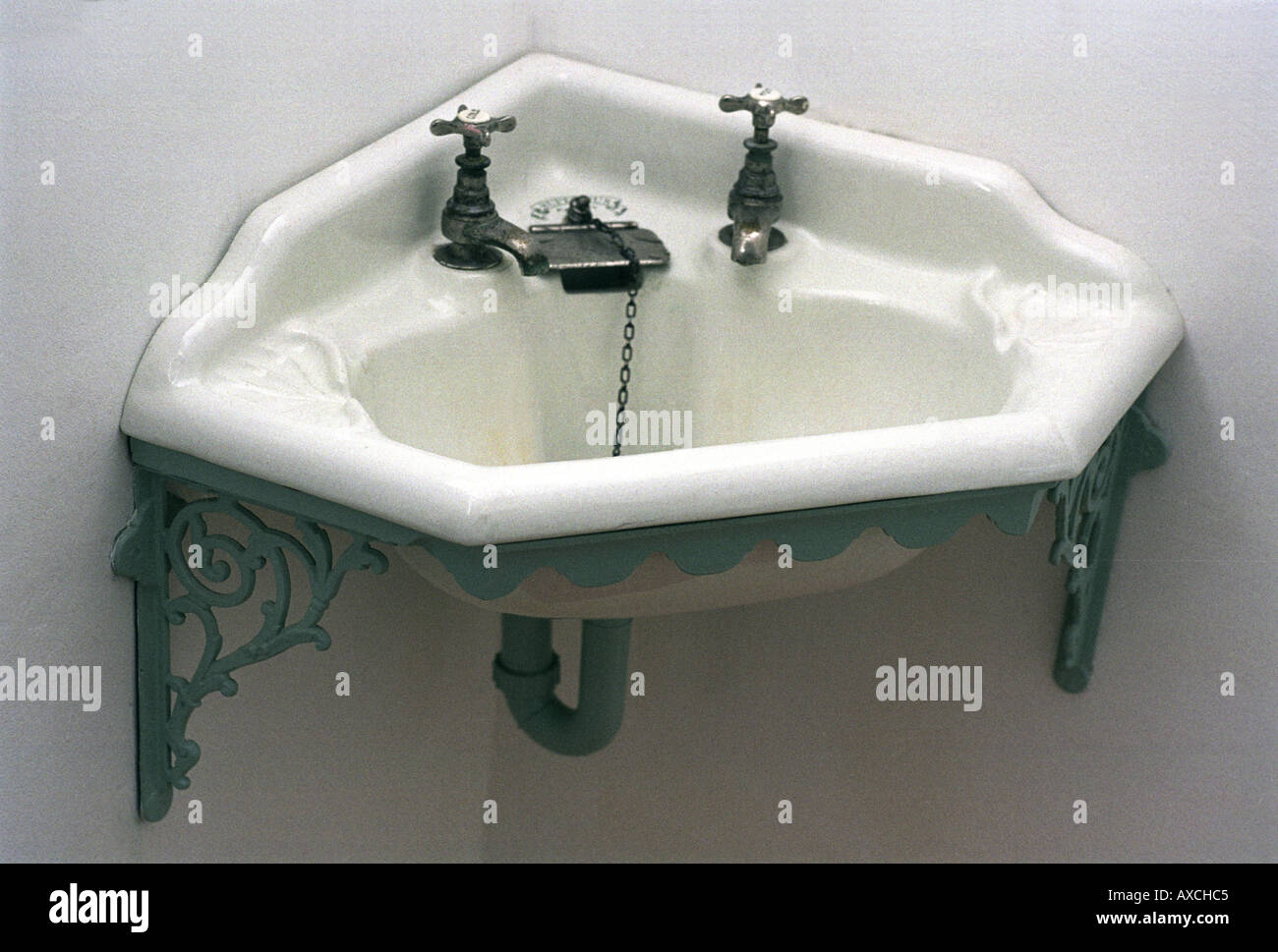 Burlington Corner Sink : Victorian Style Corner Sink Unit Stock Photo, Royalty Free Image ...