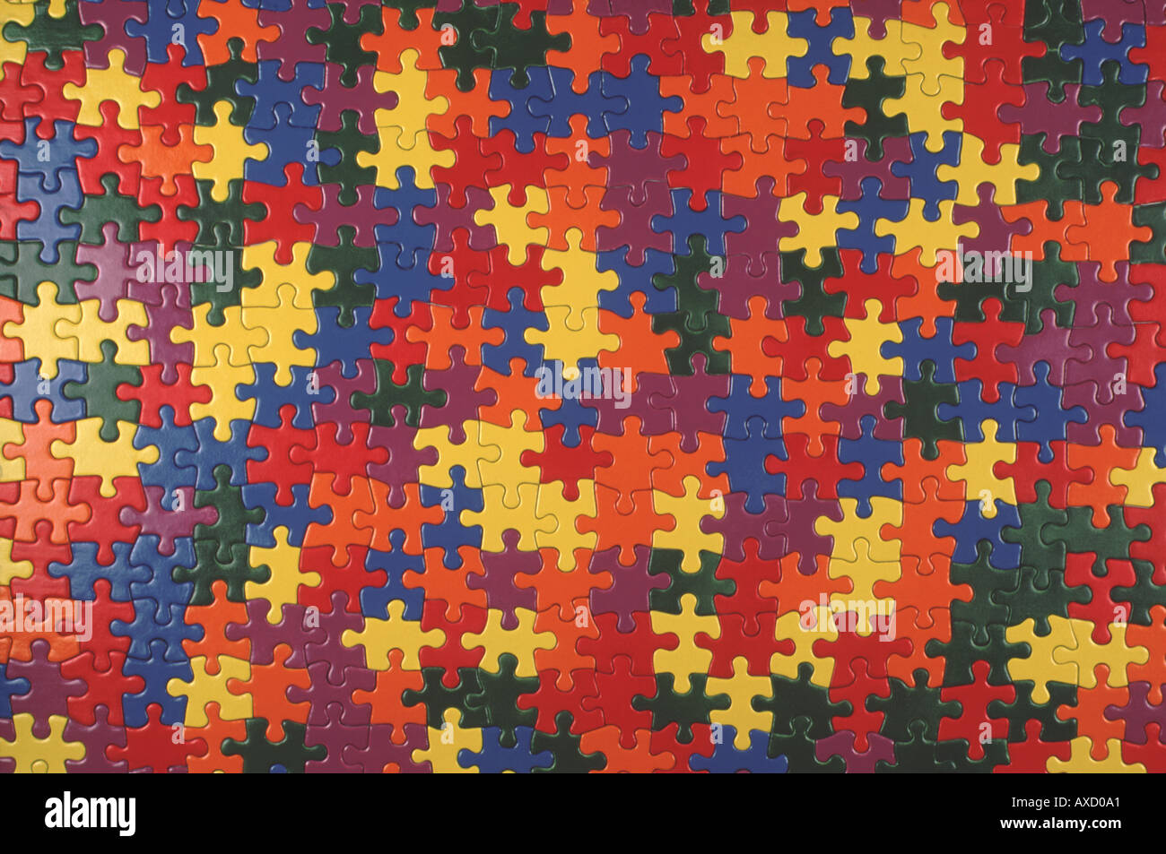 multicolored jigsaw puzzle stock photo royalty free image