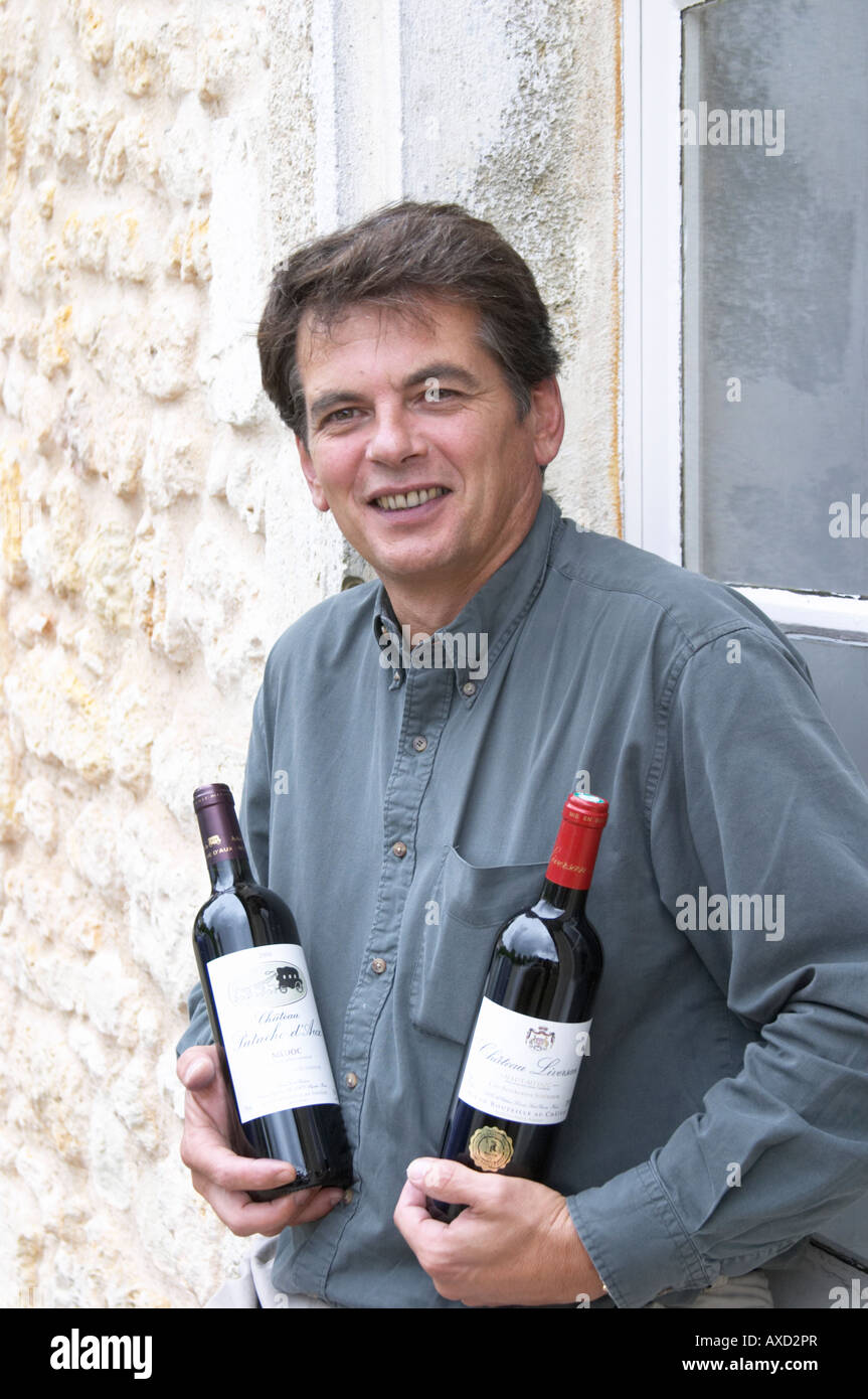 Jean michel lapalu owner chateau liversan domaines for Chateau liversan