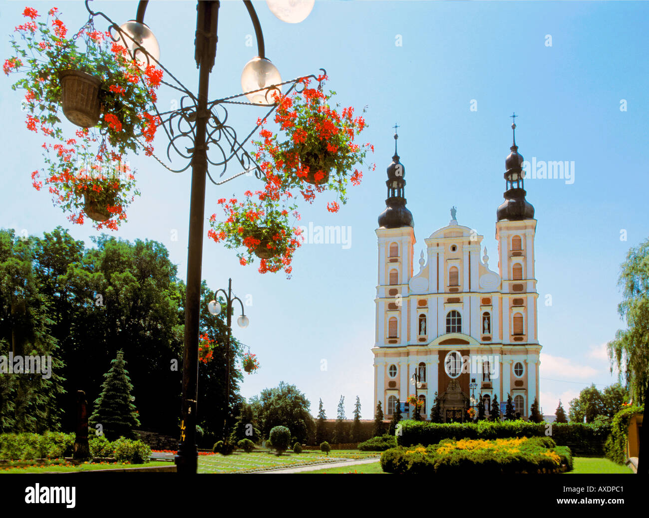 church of st peter and paul in picturesque otmuchow of poland