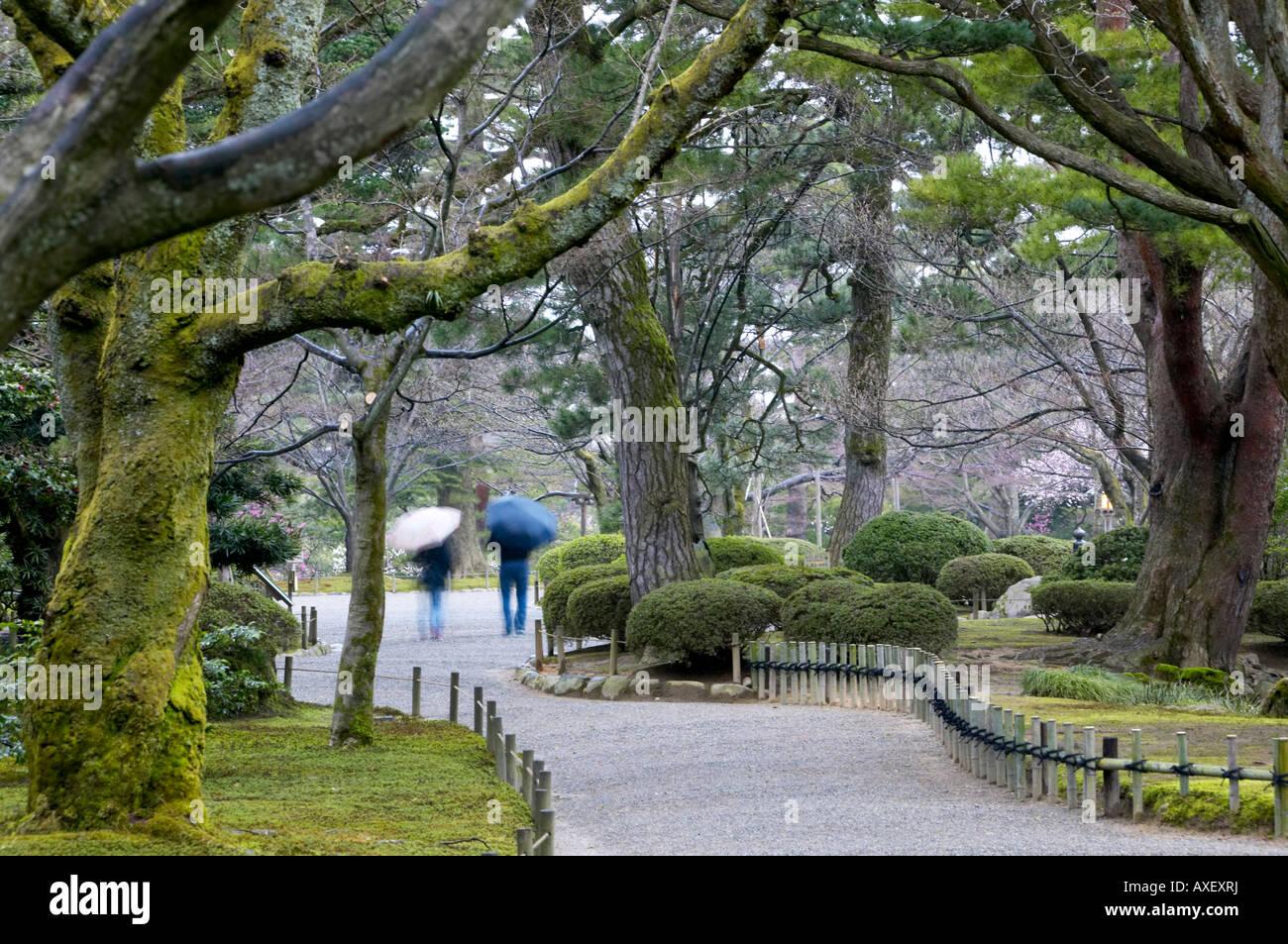 Spring at kenrokuen gardens kanazawa japan widely for Jardin kenrokuen