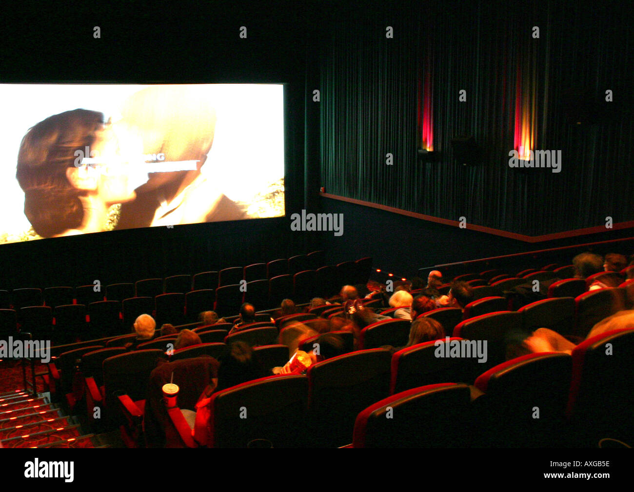 Movie theater previews