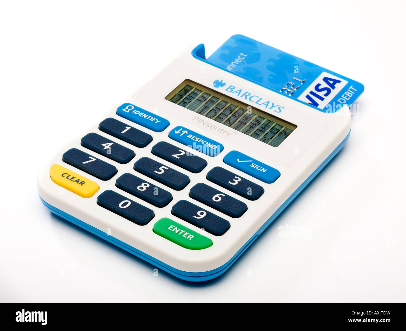 Barclays Pinsentry Card Reader Stock Photos & Barclays Pinsentry ...