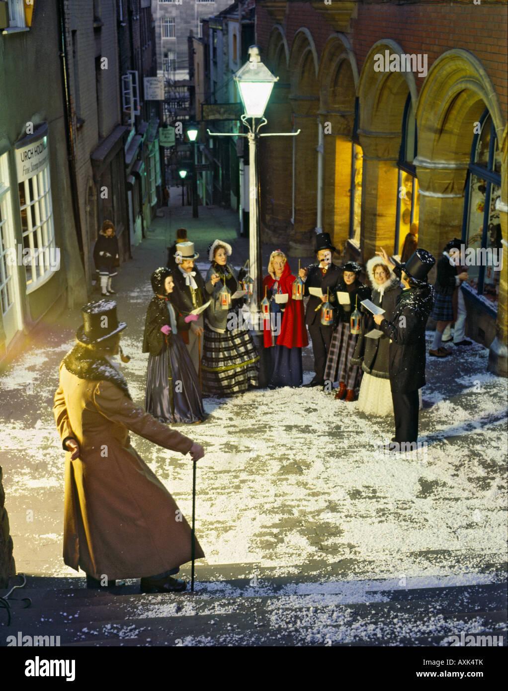 Old Fashioned English Christmas Image