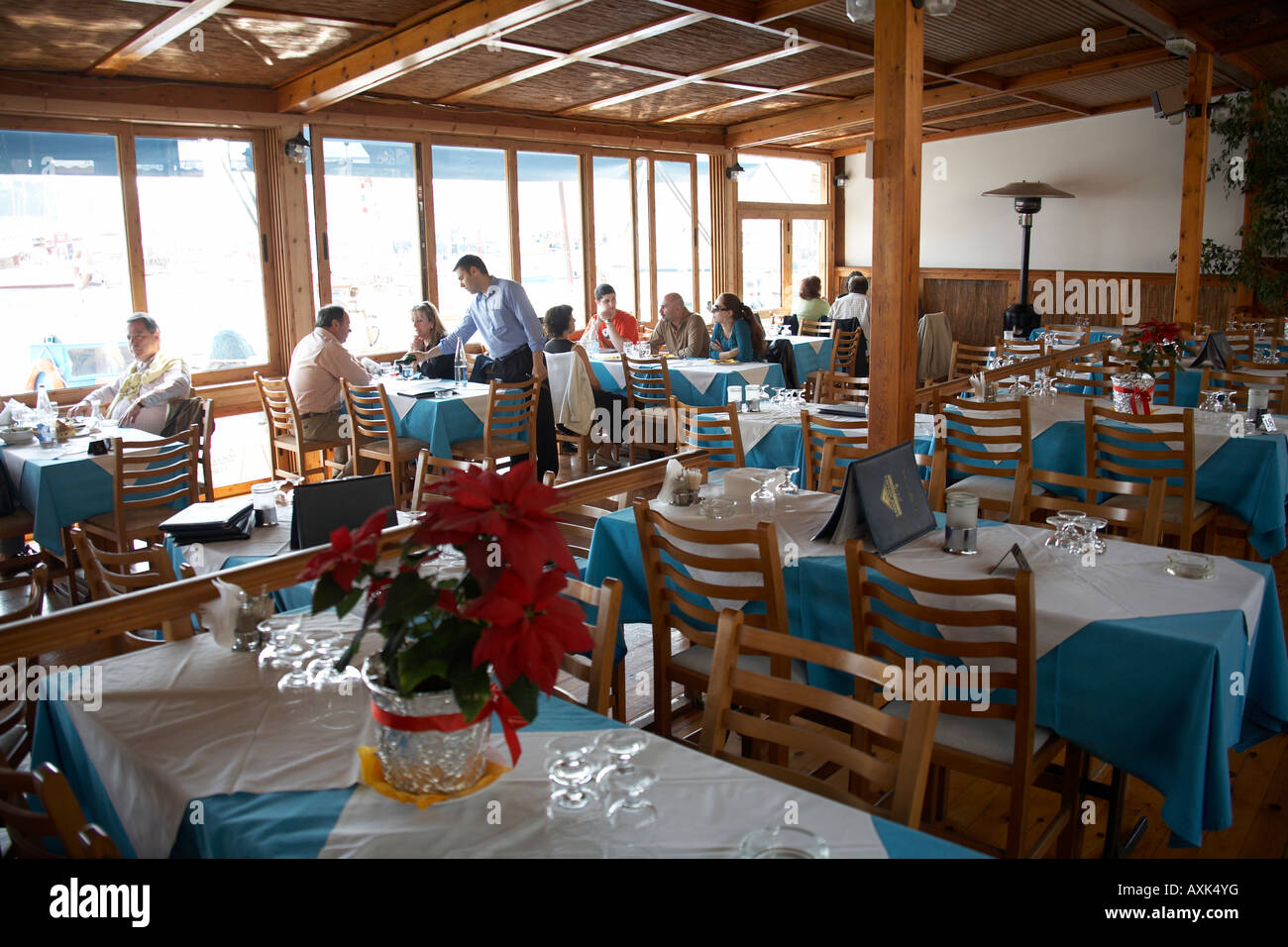 Busy Restaurant Interior