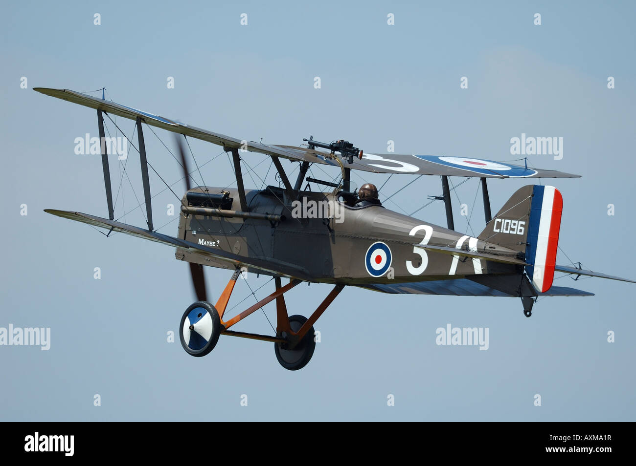 old british world war fighter biplane royal aircraft factory se5