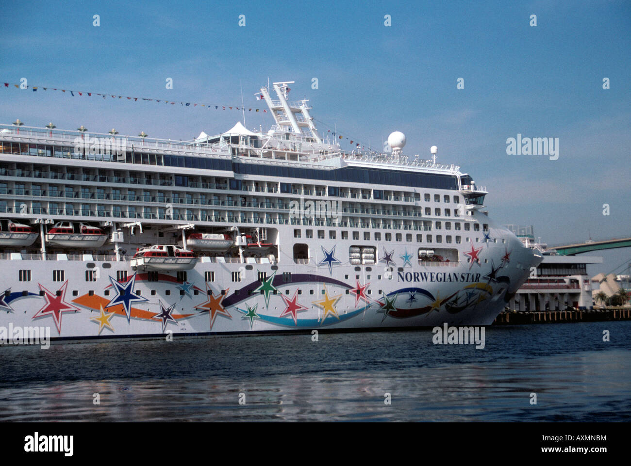 Cruise Ship Docked At The Port Of Los Angeles Stock Photo Royalty - Cruise ships los angeles