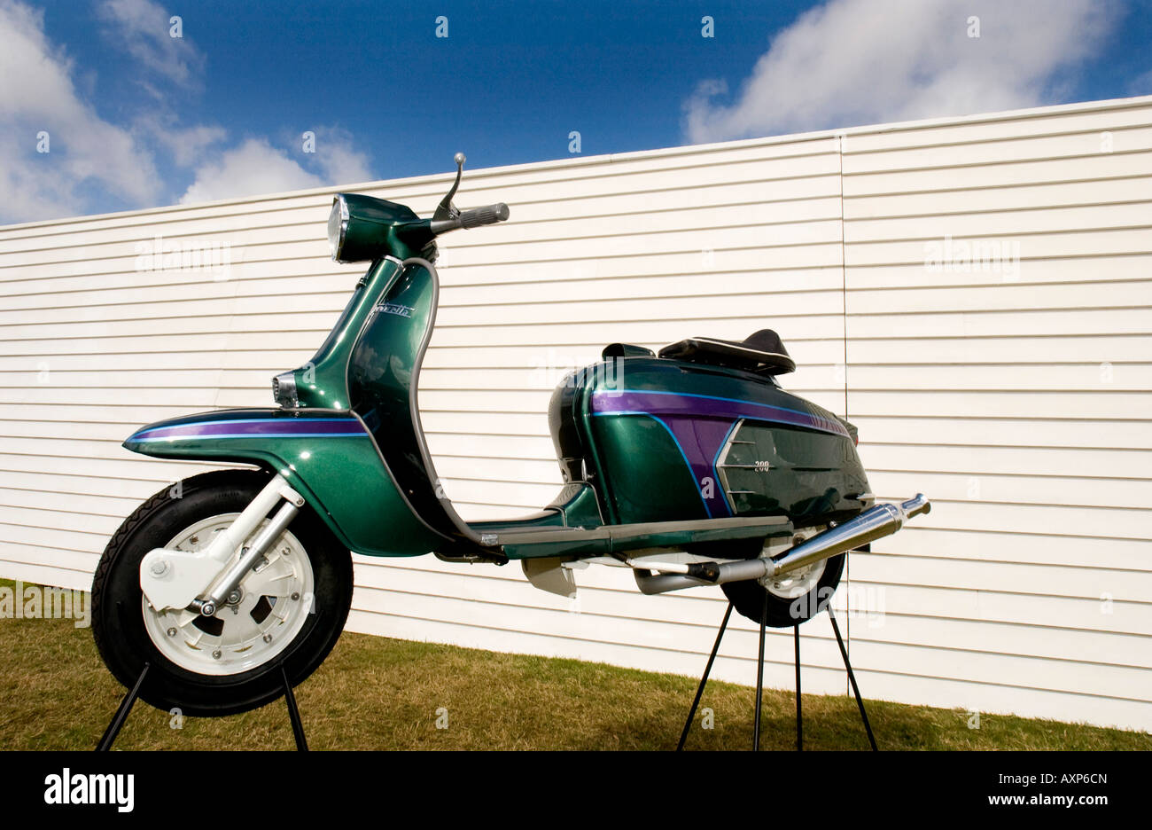 1960s retro vintage mod lambretta vespa motorbike motor scooter stock photo royalty free image. Black Bedroom Furniture Sets. Home Design Ideas