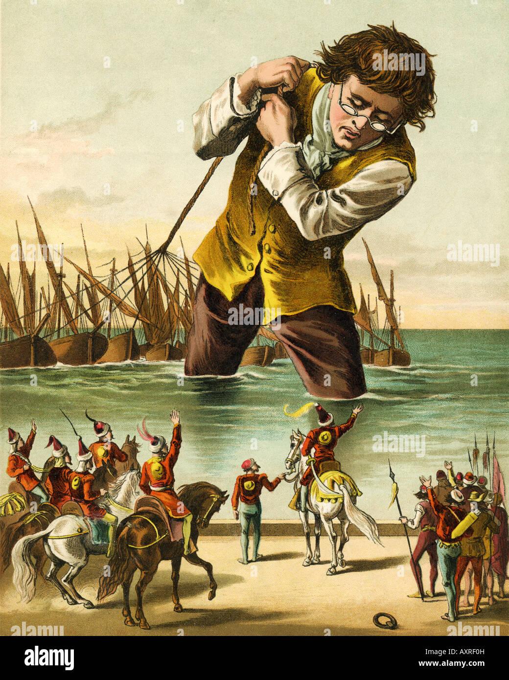 Gulliver S Travels To Lilliput Summary