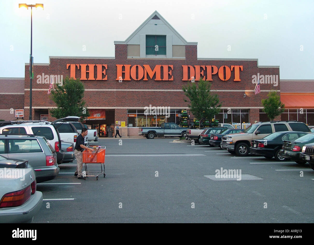 The Home Depot In College Park Md Stock Photo Royalty Free Image