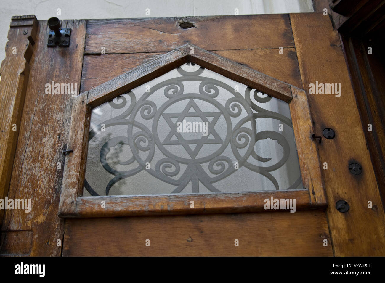 Star of david detail on an old door in josefov the jewish quarter star of david detail on an old door in josefov the jewish quarter in prague bohemia czech republic buycottarizona Images