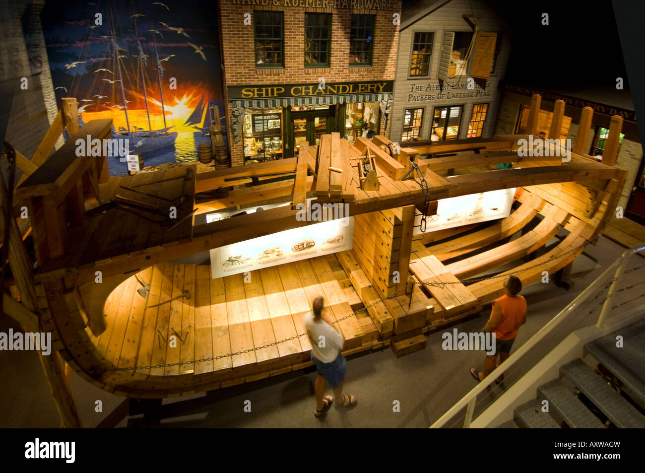 Ship Chandlery Display At The Wisconsin Maritime Museum In ...
