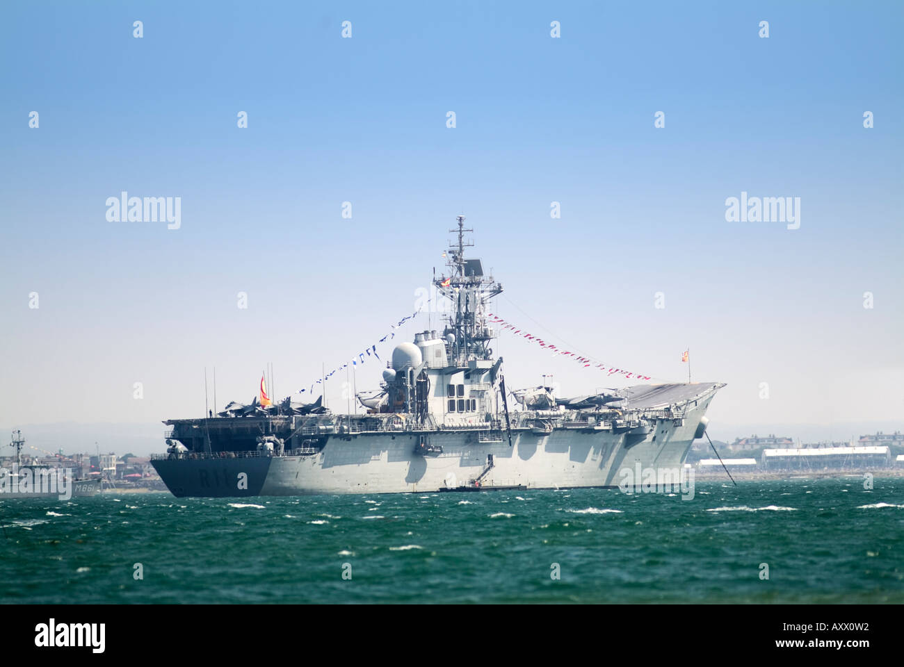Spanish aircraft carrier SPS Principe De Asturias R11 ...Spanish Aircraft Carrier Principe De Asturias