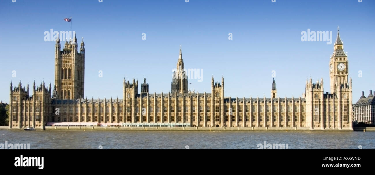 Front Elevation Of Houses In London : Front elevation view of the houses parliament in london