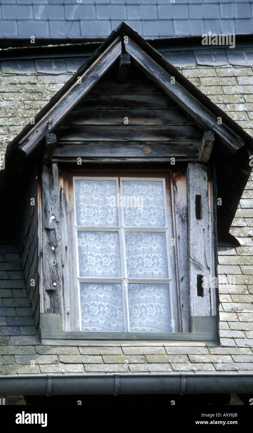 Pont-Audemer - Normandy - France Close-up of a window