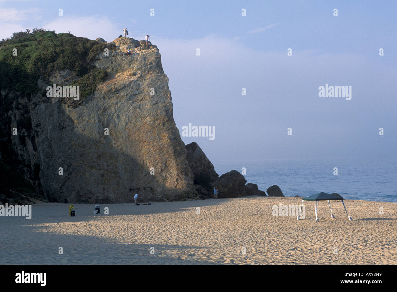 Rock cliff and sand at point dume state beach near malibu for Landscaping rocks in los angeles