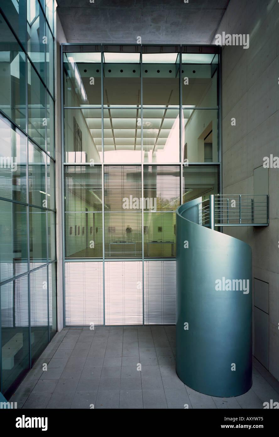 Architekt Bonn bonn kunstmuseum treppe architekt axel schultes stock photo