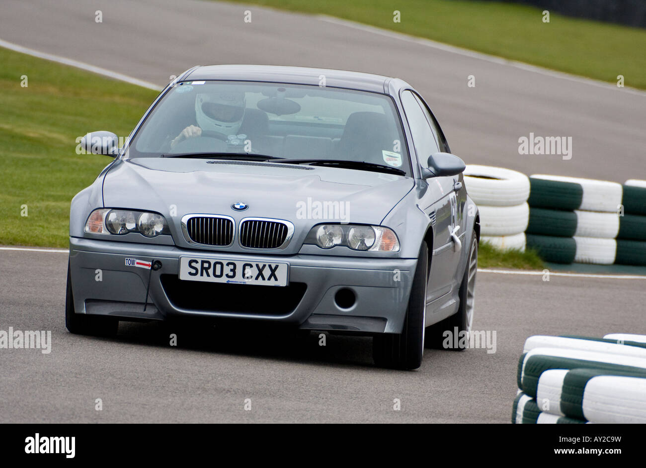 2003 BMW M3 CSL at the chicane during the GRRC Spring Sprint at ...
