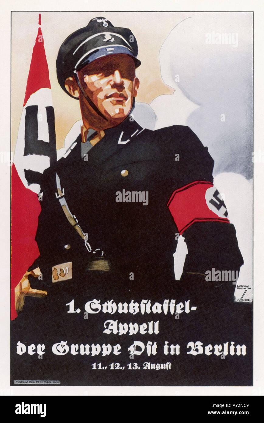 Nazi Propaganda Politics Poster Stock Photos & Nazi Propaganda ...