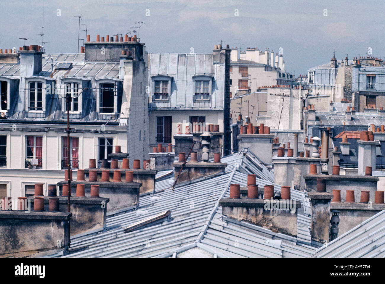 paris rooftops in the old and smart city centre stock photo royalty free image 1791955 alamy. Black Bedroom Furniture Sets. Home Design Ideas