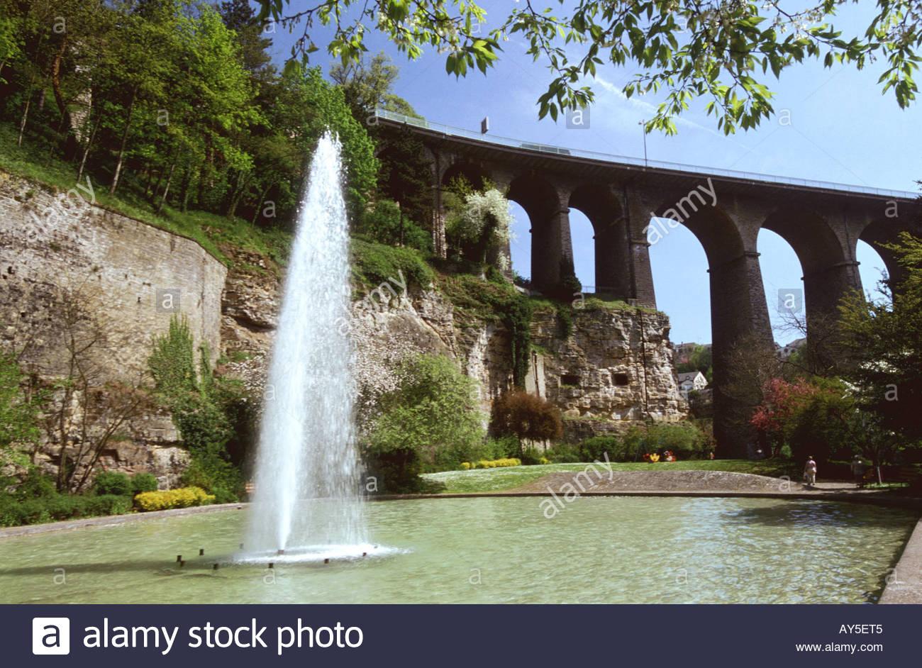 Luxembourg luxembourg ville parc vall e de la p trusse for Badanstalt piscine luxembourg