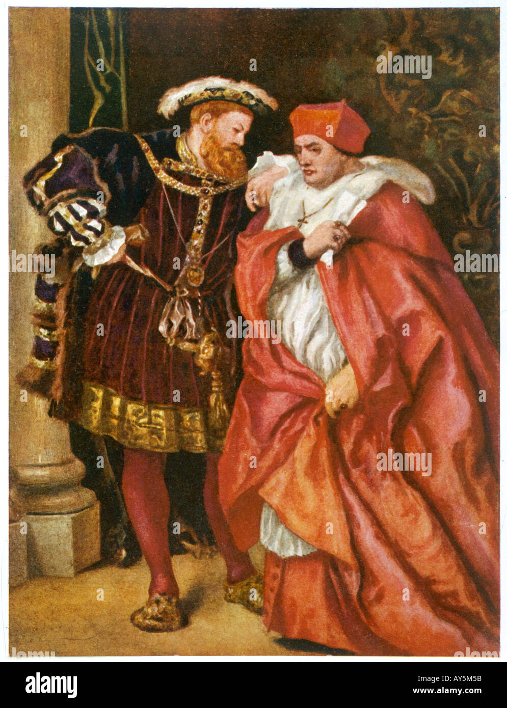 wolsey henry viii relationship