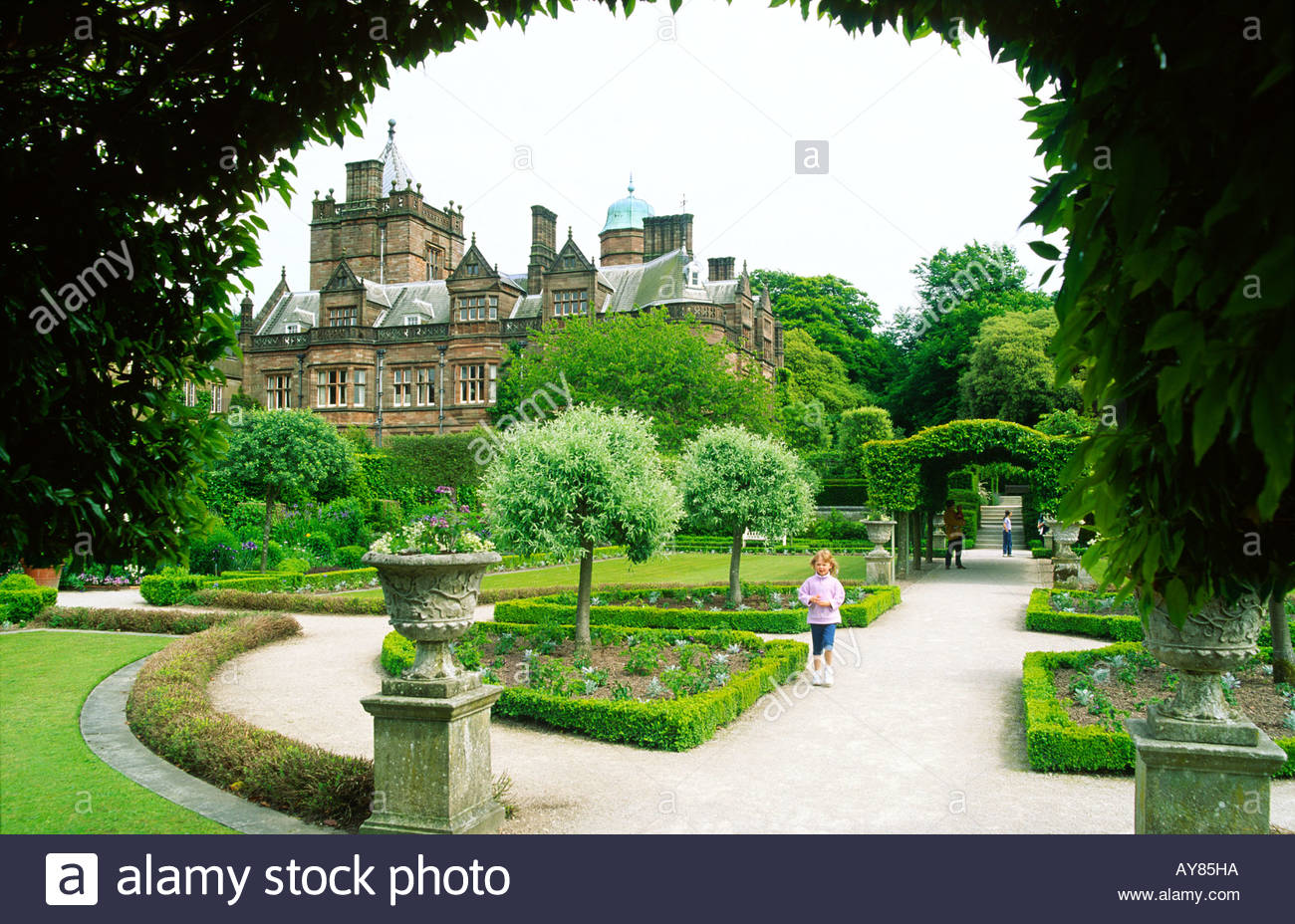 cavendish family stock photos cavendish family stock images alamy holker hall and gardens the cavendish family stately home estate near cartmel and grange in