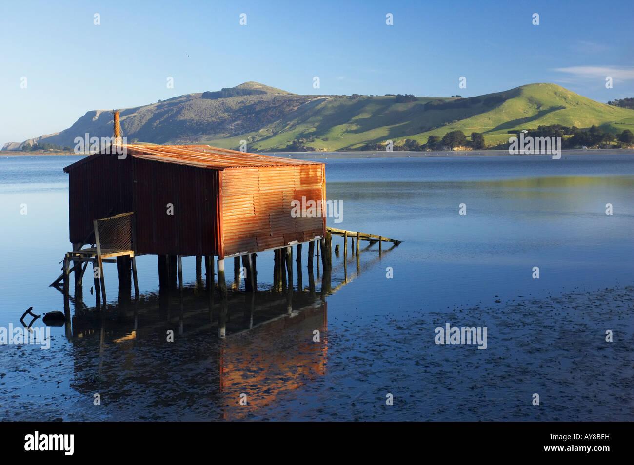 Boat Shed Hoopers Inlet Otago Peninsula Dunedin South