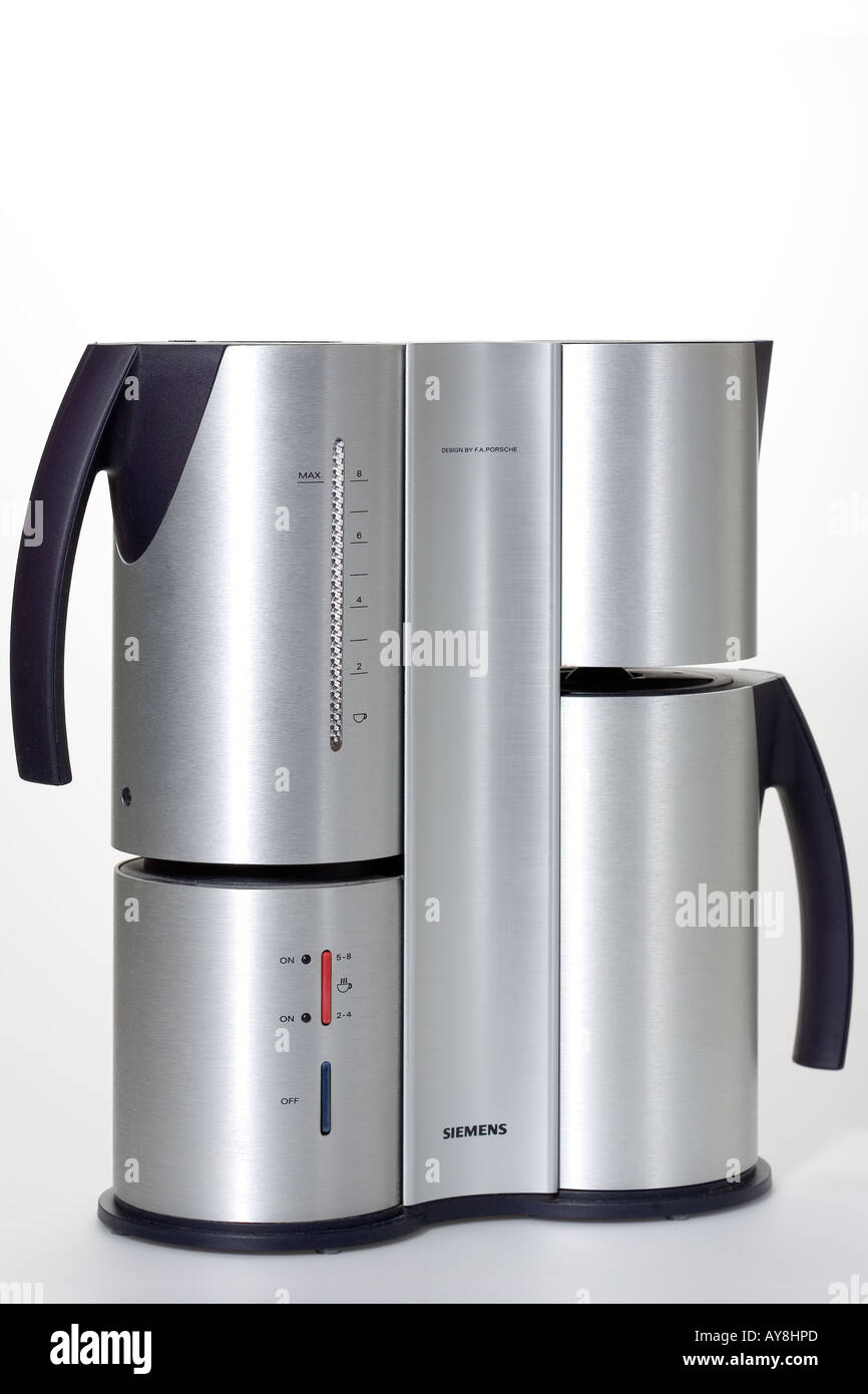 modern coffee maker stock photo royalty free image   alamy - modern coffee maker