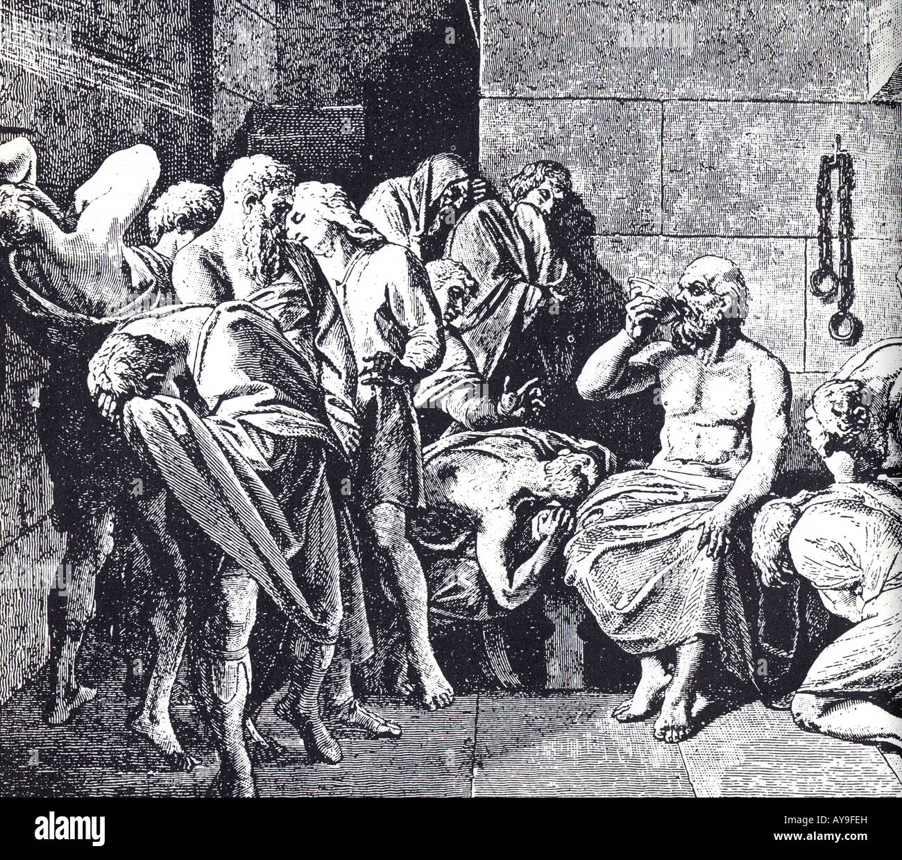 socrates on life death and the Friends arrive at the jail with a foolproof plan for his escape from athens to a life of voluntary exile, but socrates and since avoiding the sentence of death.