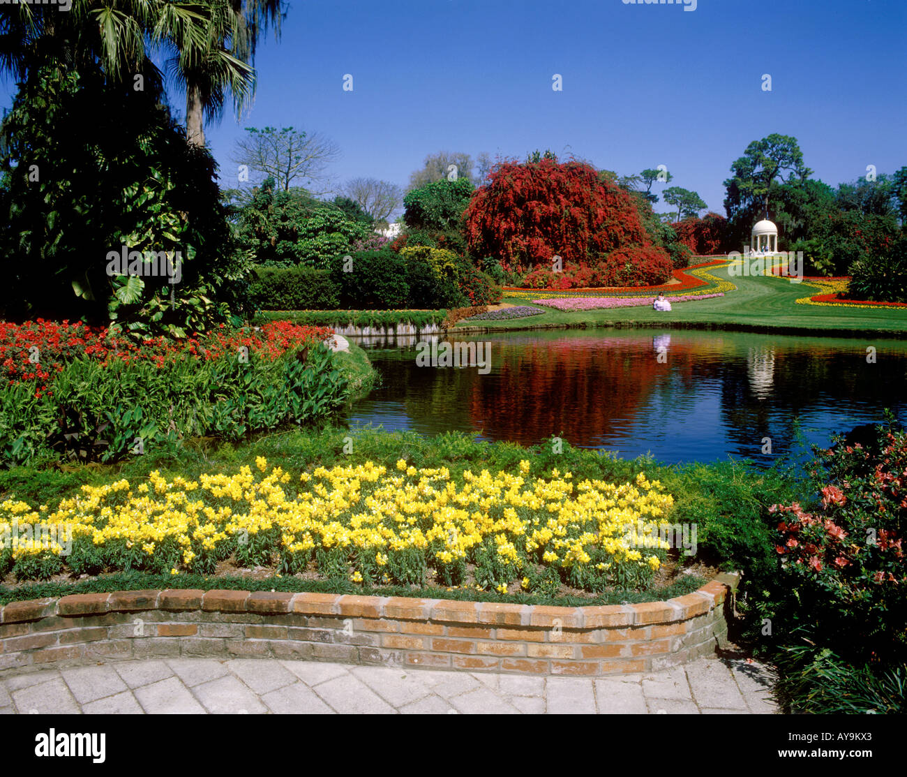 Beau USA, Florida, Cypruss Gardens, Beautiful Gardens
