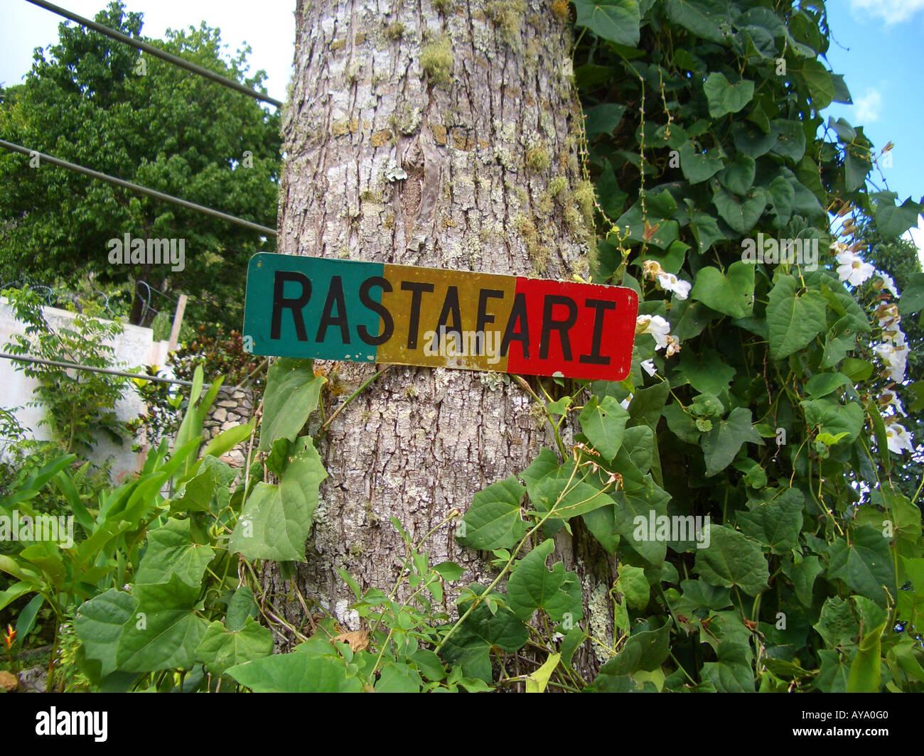 Rastafari sign stock photos rastafari sign stock images alamy rastafari sign jamaica stock image biocorpaavc Image collections