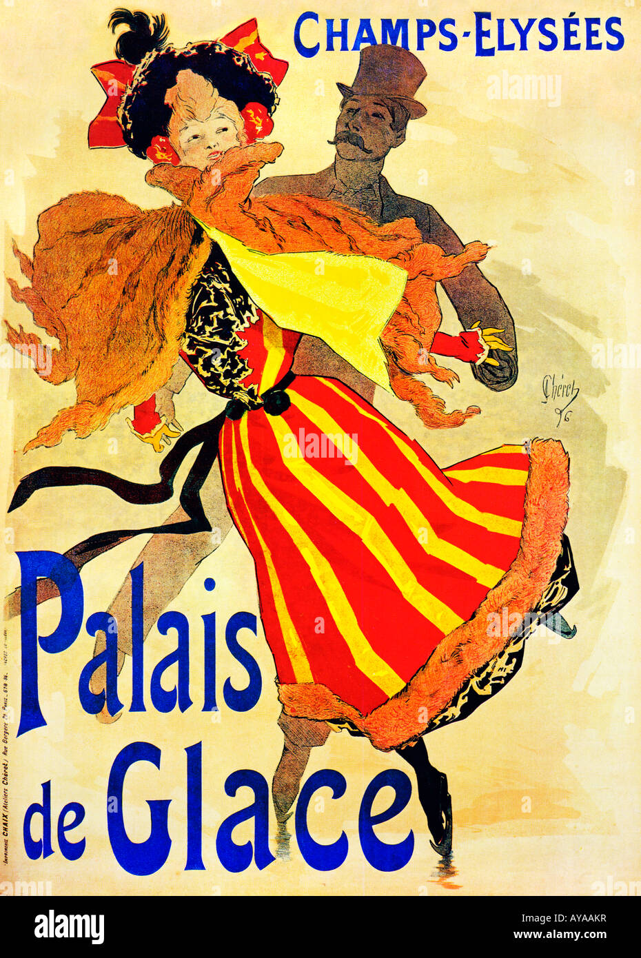 jules cheret Why jules ch ret credited with elevating lithography to an art form, jules ch ret's first original print depicted the moulin rouge, a subject that captured such artists as toulouse-lautrec.
