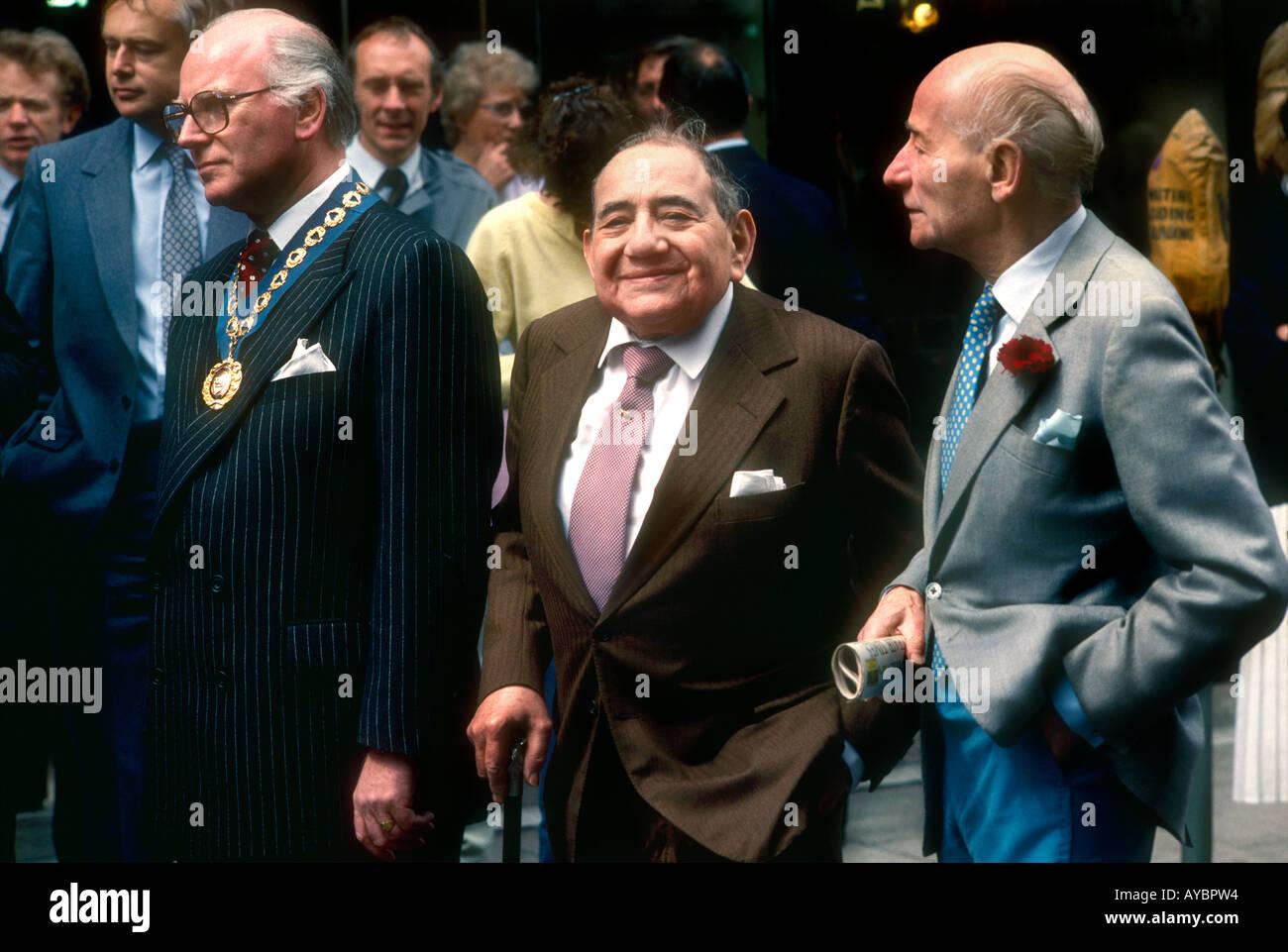 Robert Bright With Harry Helman And Bobby Valentine, Bespoke Savile Row  Tailors At Savile Row