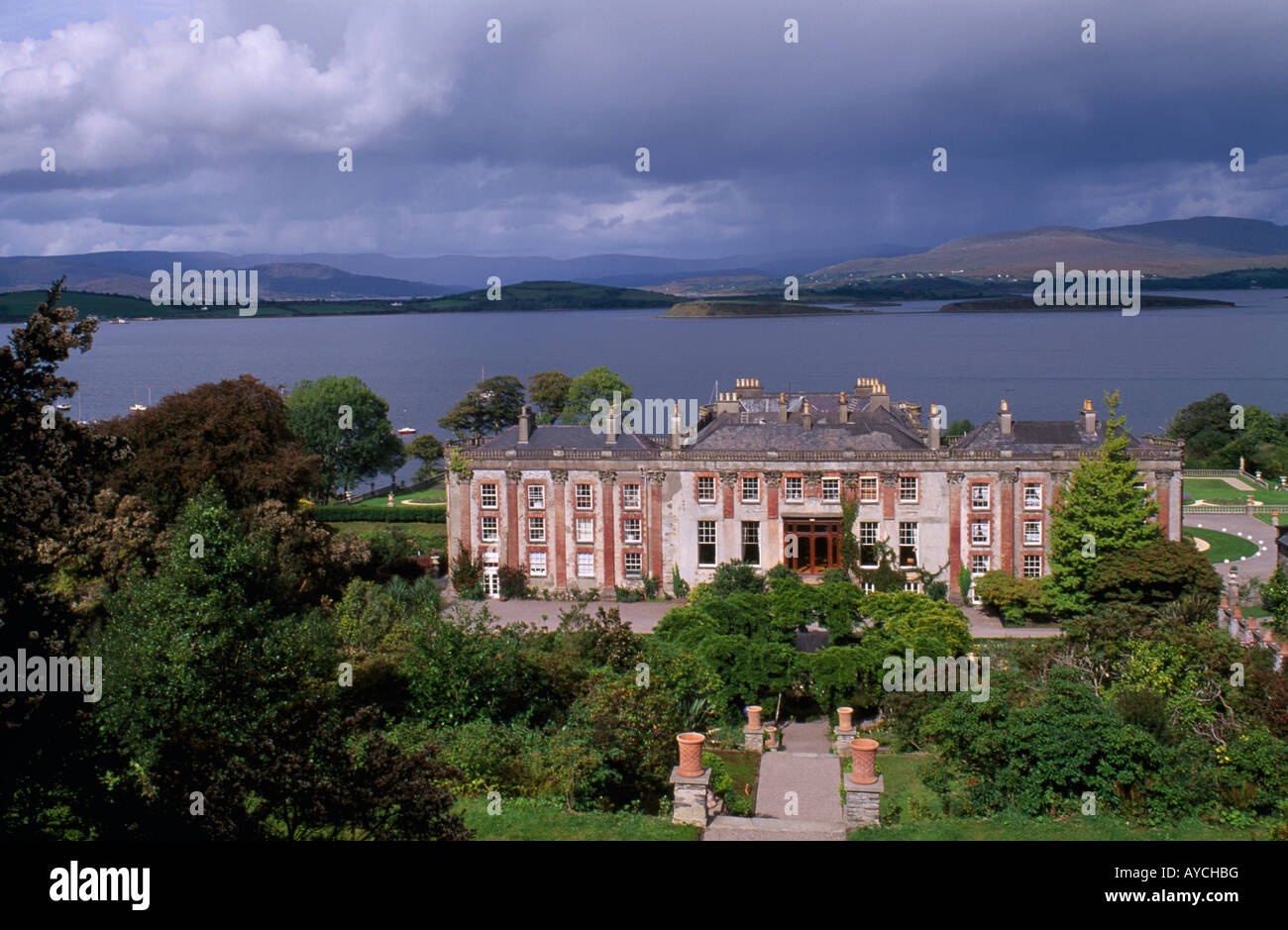 Bantry house on bantry bay county cork ireland stock photo for Bantry house