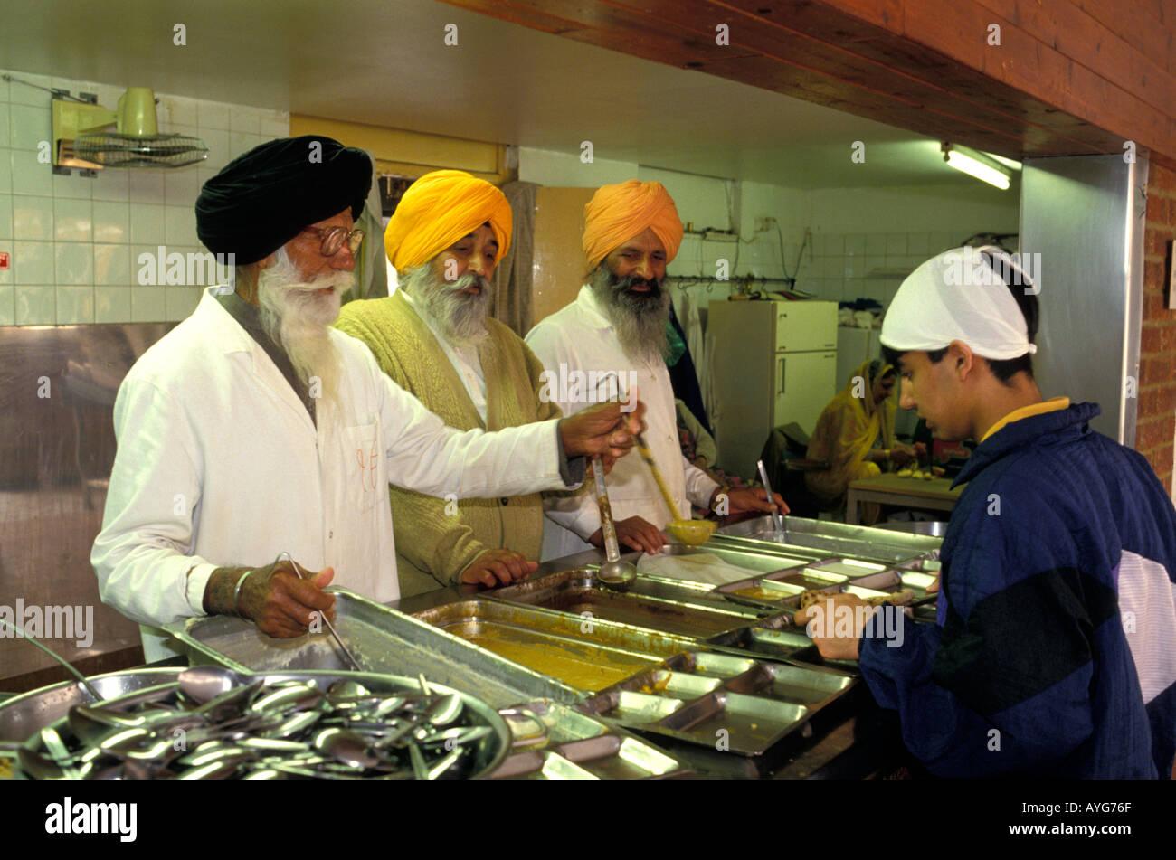 Sikh Kitchen In Punjabi Langar Within The Gurdwara