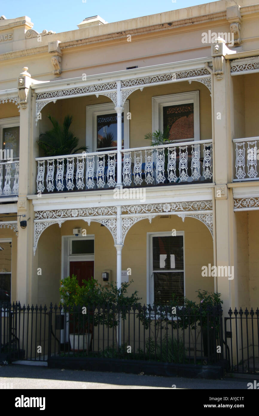 Victorian era terrraced homes in carlton melbourne for House builders in victoria