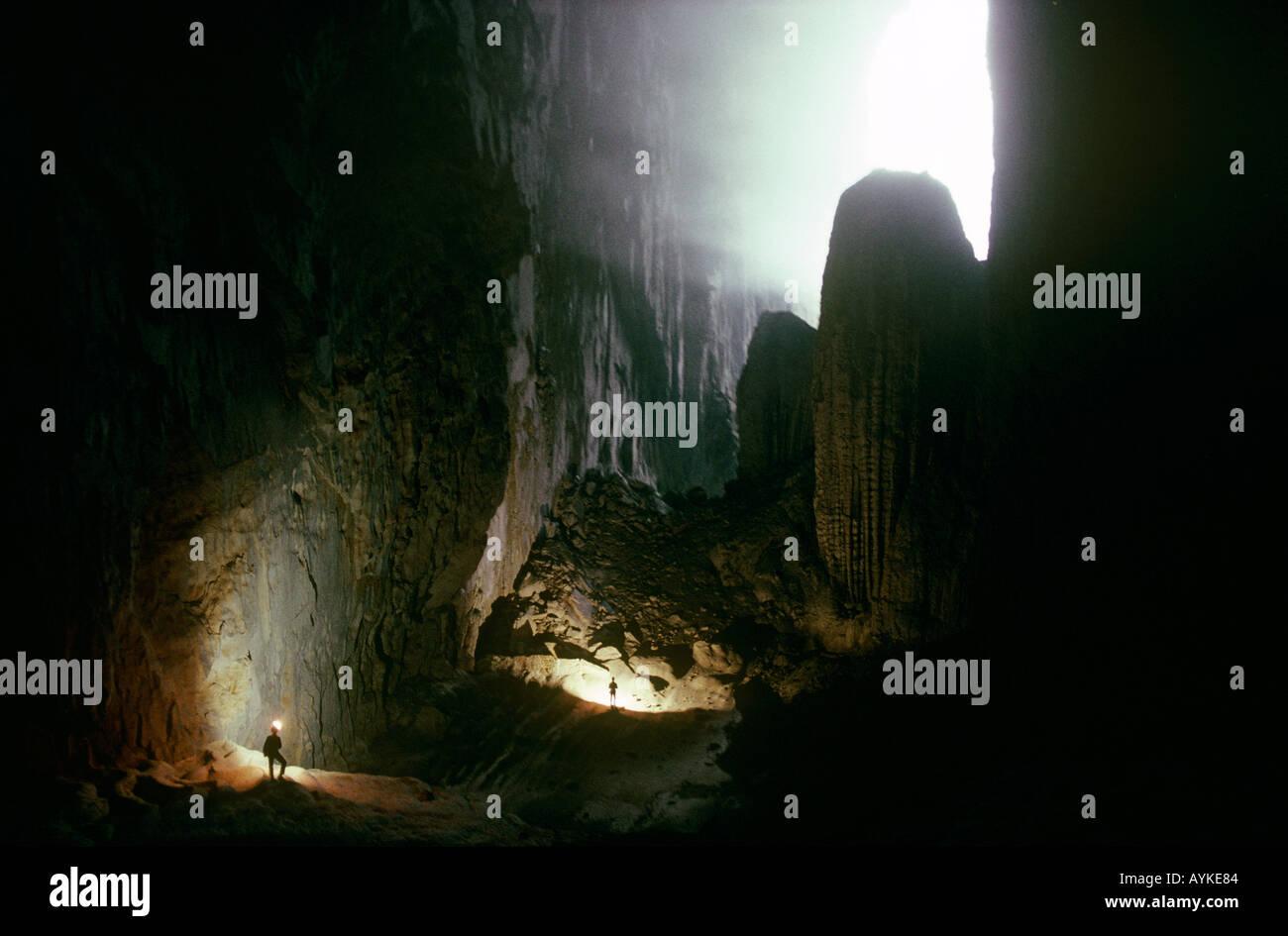 Ma Wang Dong cave system Guangxi China Stock Photo, Royalty Free ...