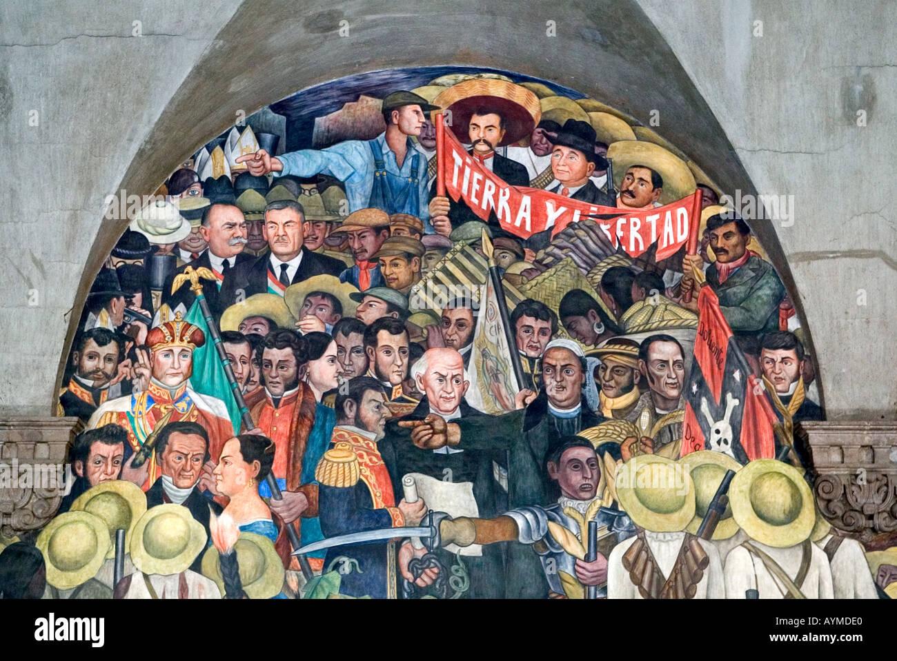 Diego rivera mural palacio nacional 85320 notefolio for Diego rivera mural palacio nacional