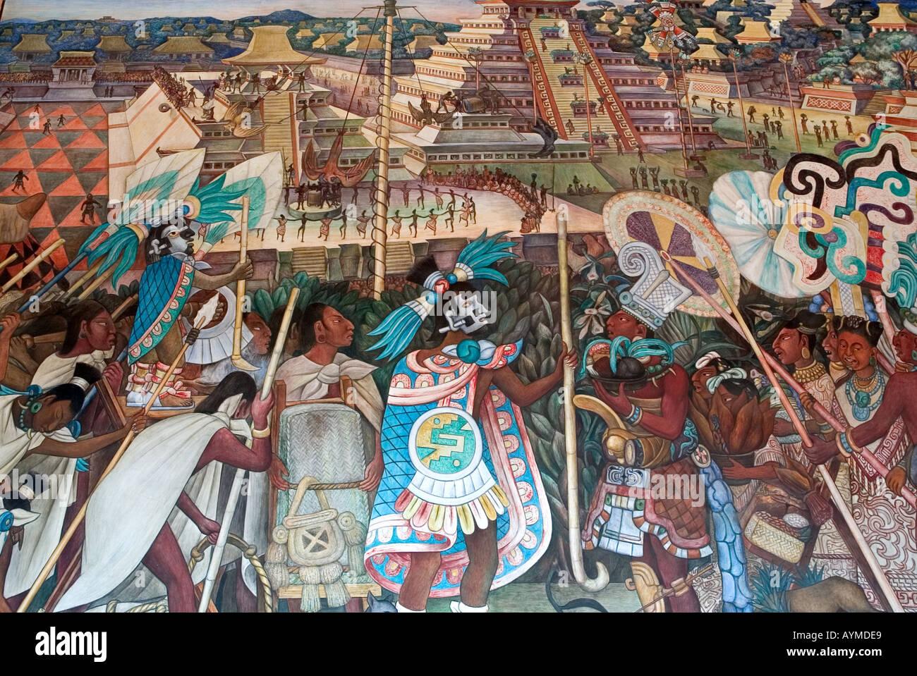 Diego Rivera Mexican Murals