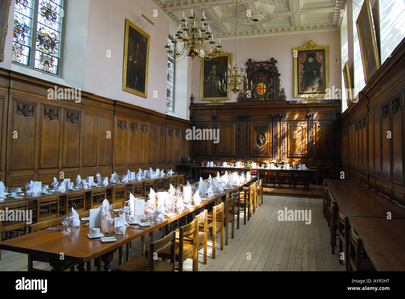 Clare Hall Clare College Cambridge Cambridgeshire England United Stock Photo Royalty Free